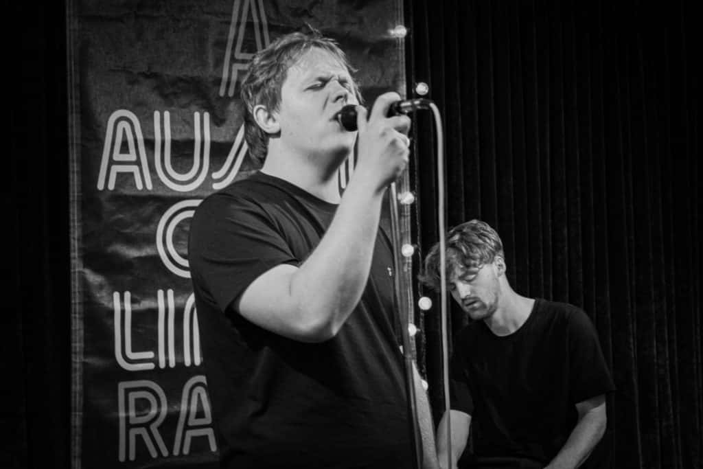 Lewis Capaldi in the ACL Radio Music Lounge