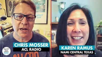 chris mosser and karen ramus acl radio and nami central texas