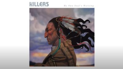 The Killers album artwork My Own Soul's Warning