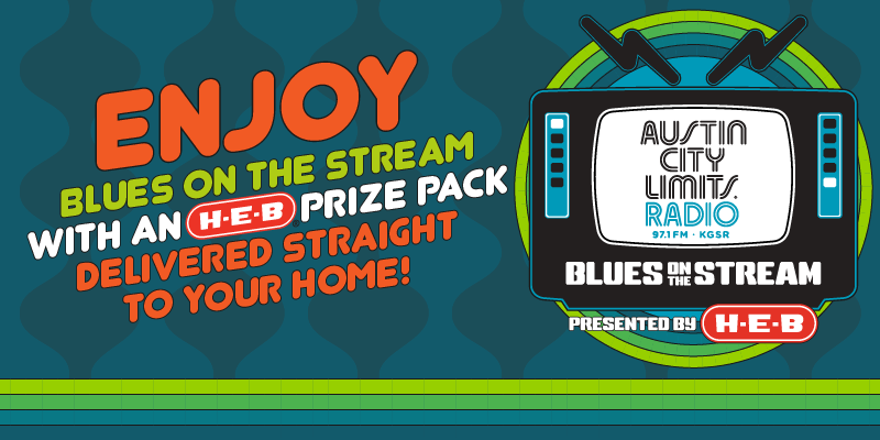 Enjoy Blues on the Stream with an H-E-B prize pack delivered straight to your home!