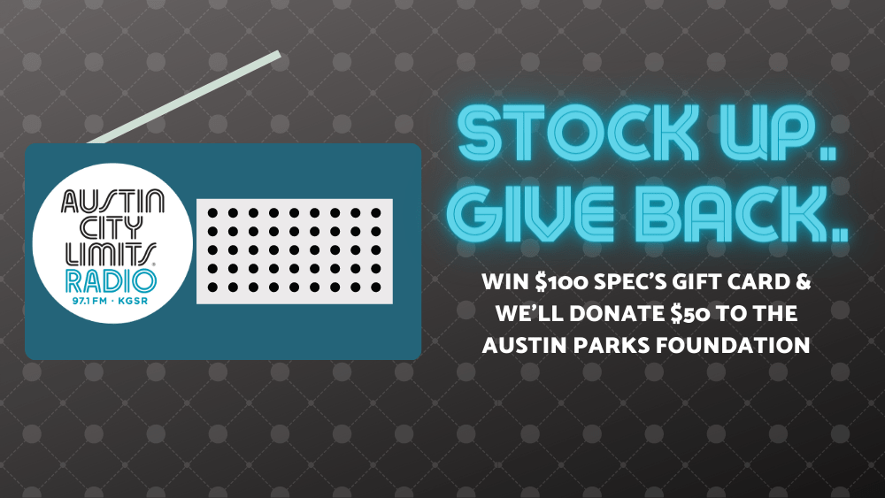 STOCK UP GIVE BACK