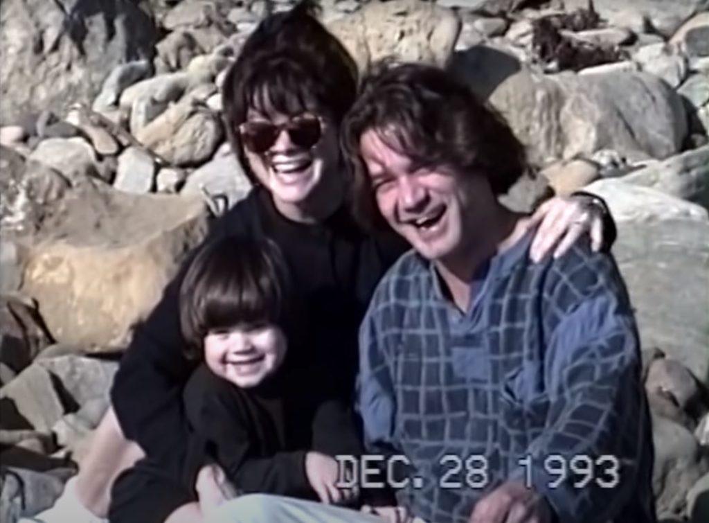 Wolfgang and Eddie Van Halen Family
