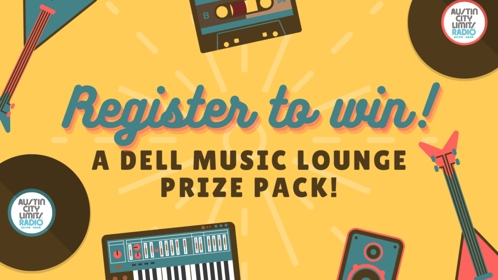 Register to win a Dell Music Lounge Prize Pack!