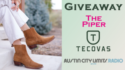 Giveaway The Piper boots Tecovas ACL Radio Contest