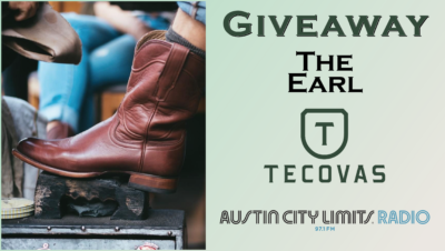 Giveaway The Earl boots Tecovas ACL Radio Contest