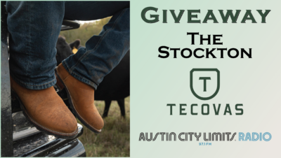 Giveaway The Stockton boots Tecovas ACL Radio Contest