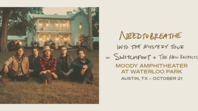 NEEDTOBREATHE Into The Mystery Tour with Switchfoot and The New Respects