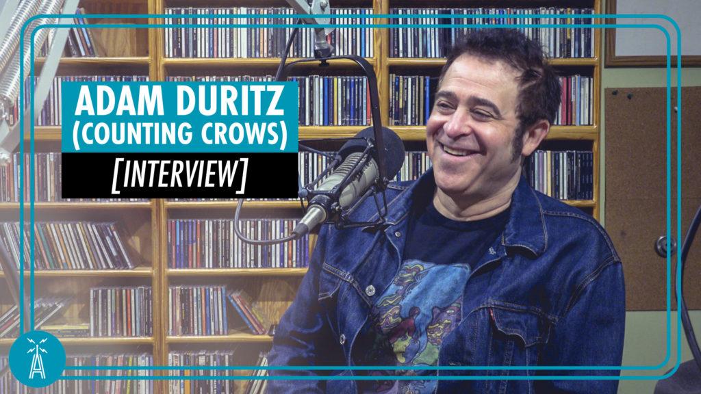 Adam Duritz in the ACL Radio studio.