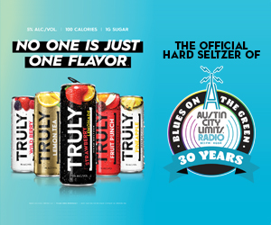 Truly No One Is Just One Flavor - The Official Hard Seltzer of Blue on the Green 30 year anniversary