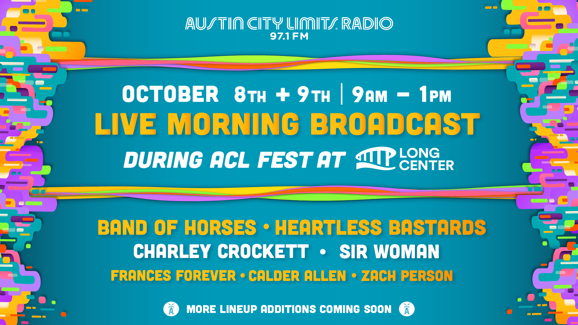 Live Morning Broadcast during ACL Fest 2021