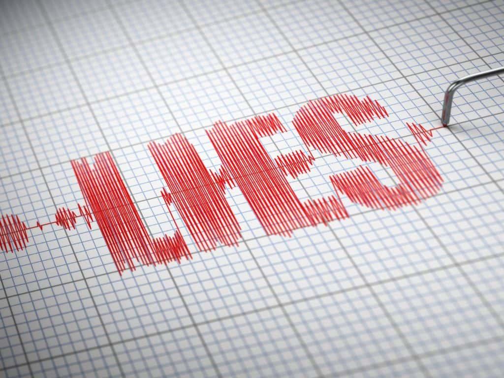 Lie detector polygraph test.