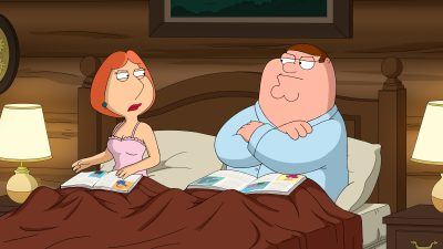 Peter and Lois from Family Guy