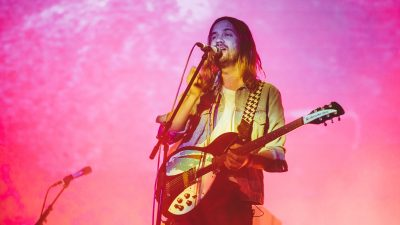 Kevin Parker and Tame Impala during ACL