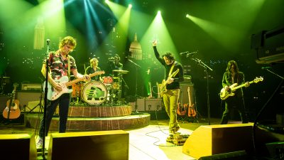The Raconteurs performing on Austin City Limits TV