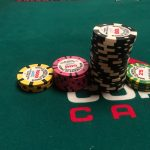 Jason's Vegas Vacation: chip from Jason's rebuy at the world series