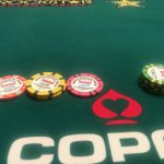 Jason's Vegas Vacation: jason's chip stack with significantly fewer chips