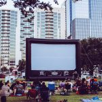 Summer Cinema Series 2019: Republic Square park during 101X's Summer Cinema