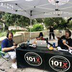 Jason And Deb Live From Republic Park : Jason, Deb and Producer Nick at Republic Square Park for the Live ACL broadcast