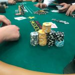 Jason's Vegas Vacation: a rather large stack of chips