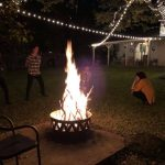 My xmas gift fire pit: fire