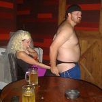 #TBTwJnD: Jason Is A Stripper: Jason dancing with his thong exposed in front of the bachelorette
