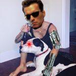 Deb Photoshopped: Deb photoshopped as the Terminator.