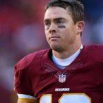 Colt Mccoy Washington: Washington Redskins Quarterback Colt Mccoy