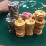 Jason's Vegas Vacation: the largest chip stack yet