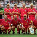 Team Romania: 1998 World Cup: Team Romania 1998 in World Cup with all blonde hair