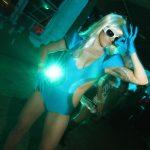 #TBTwJnD Happy Halloween! Deb as Lady Gaga: Happy Halloween! Deb as Lady Gaga