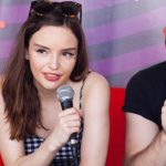 Chvrches Talking with Toby Ryan backstage at the Austin City Limits Music Festival: Chvrches Talking with Toby Ryan backstage at the Austin City Limits Music Festival