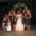 The bridal party: The bridal party
