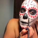 Deb Did Some Dia De Los Muertos Makeup