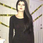 Shae Went As Morticia Addams