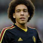 Axel Witsel: Belgium Midfielder: Axel Witsel: Belgium Midfielder on field in Belgium team jersey