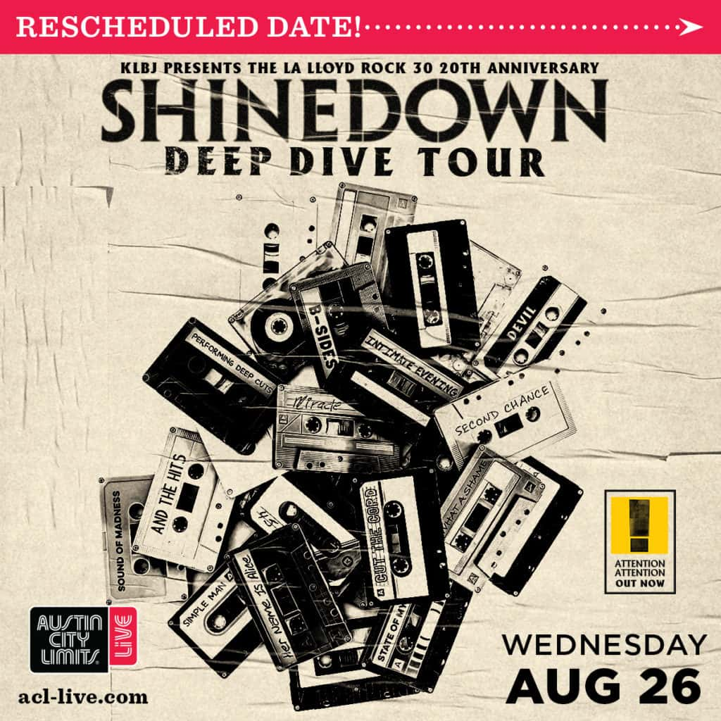 Shinedown new date