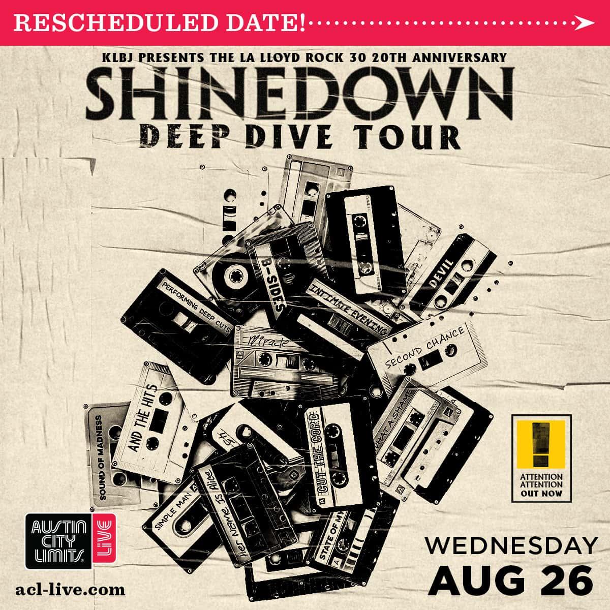 Shinedown new date