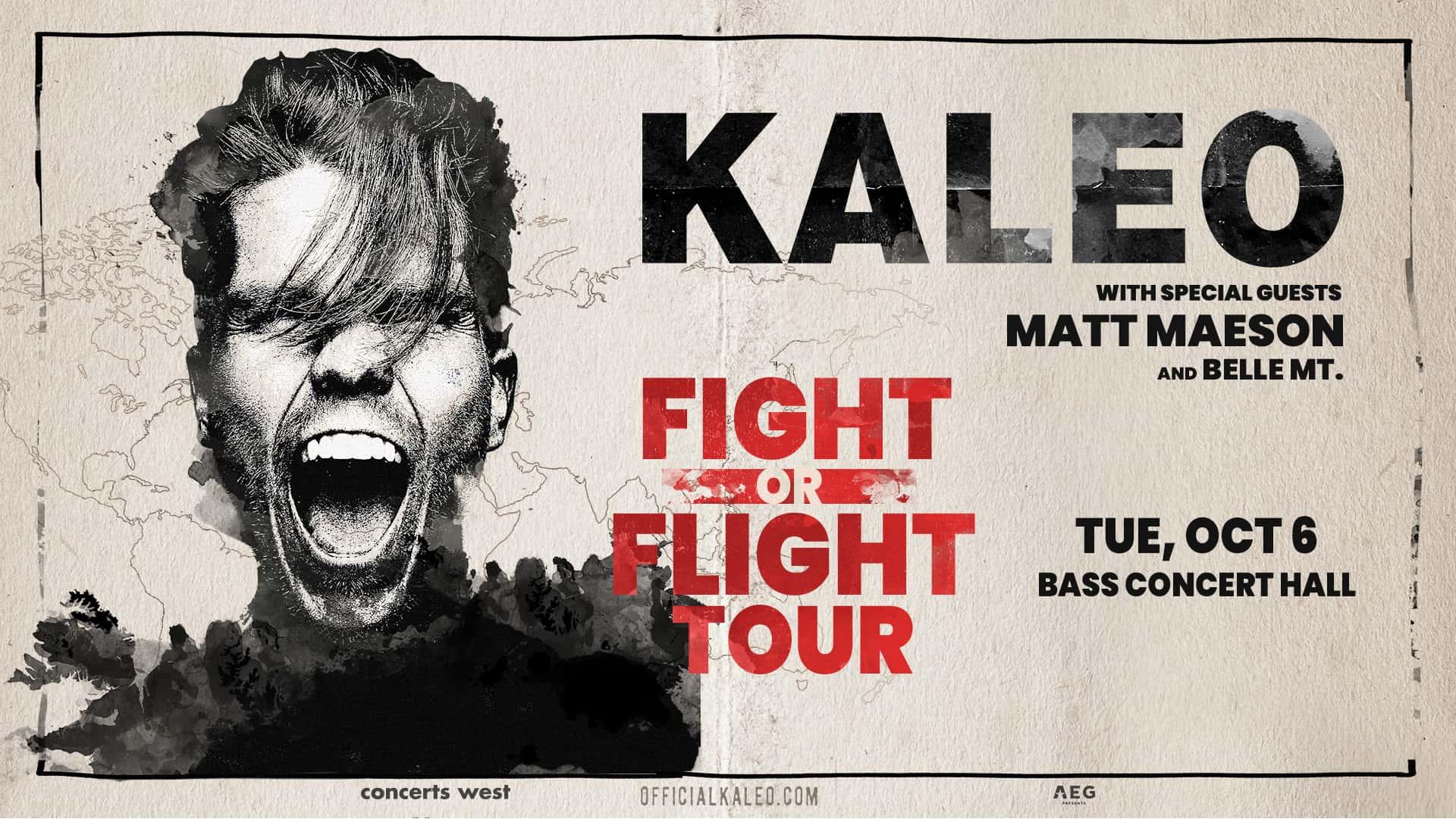 Kaleo with Matt Maeson and Belle Mt.