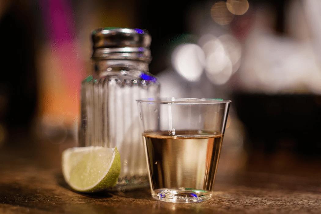 beverage, lime and salt shaker