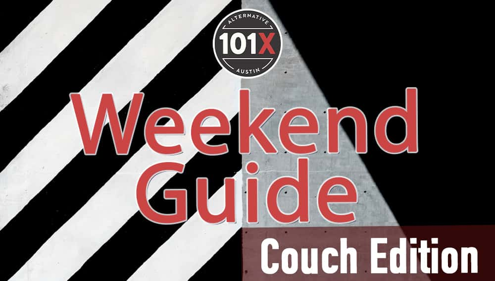 101x weekend guide couch edition