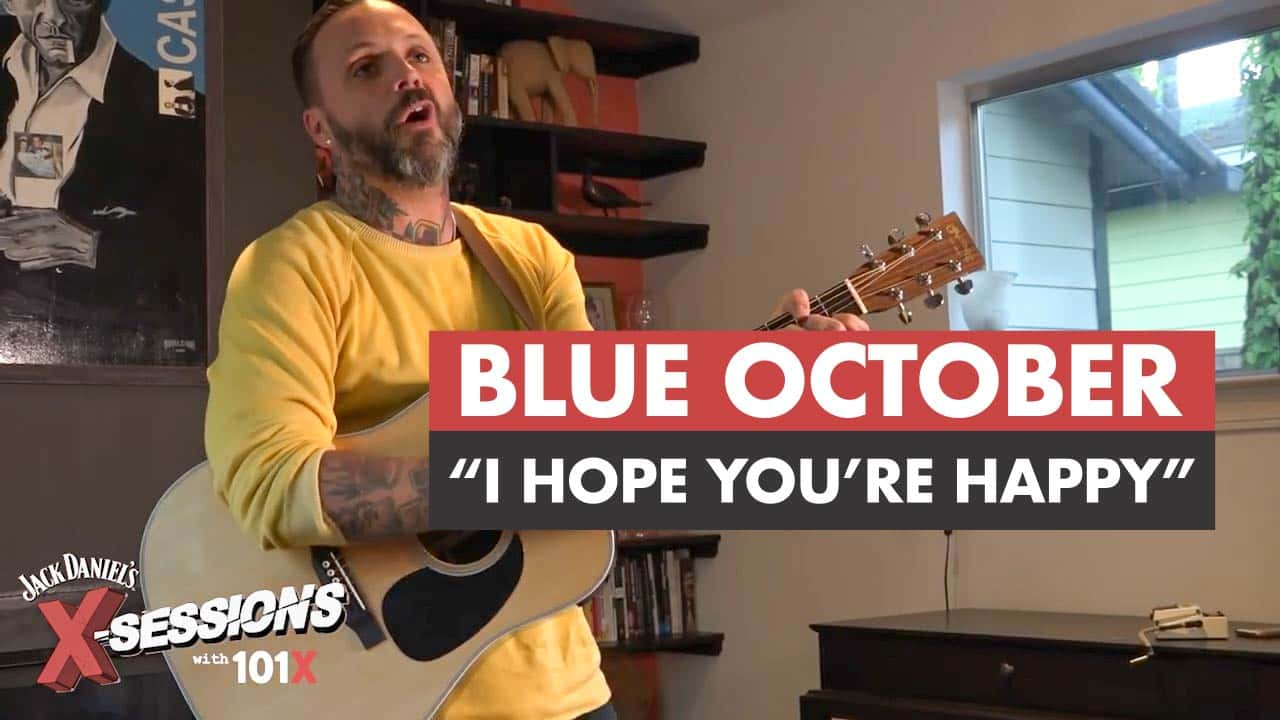 Blue October performing
