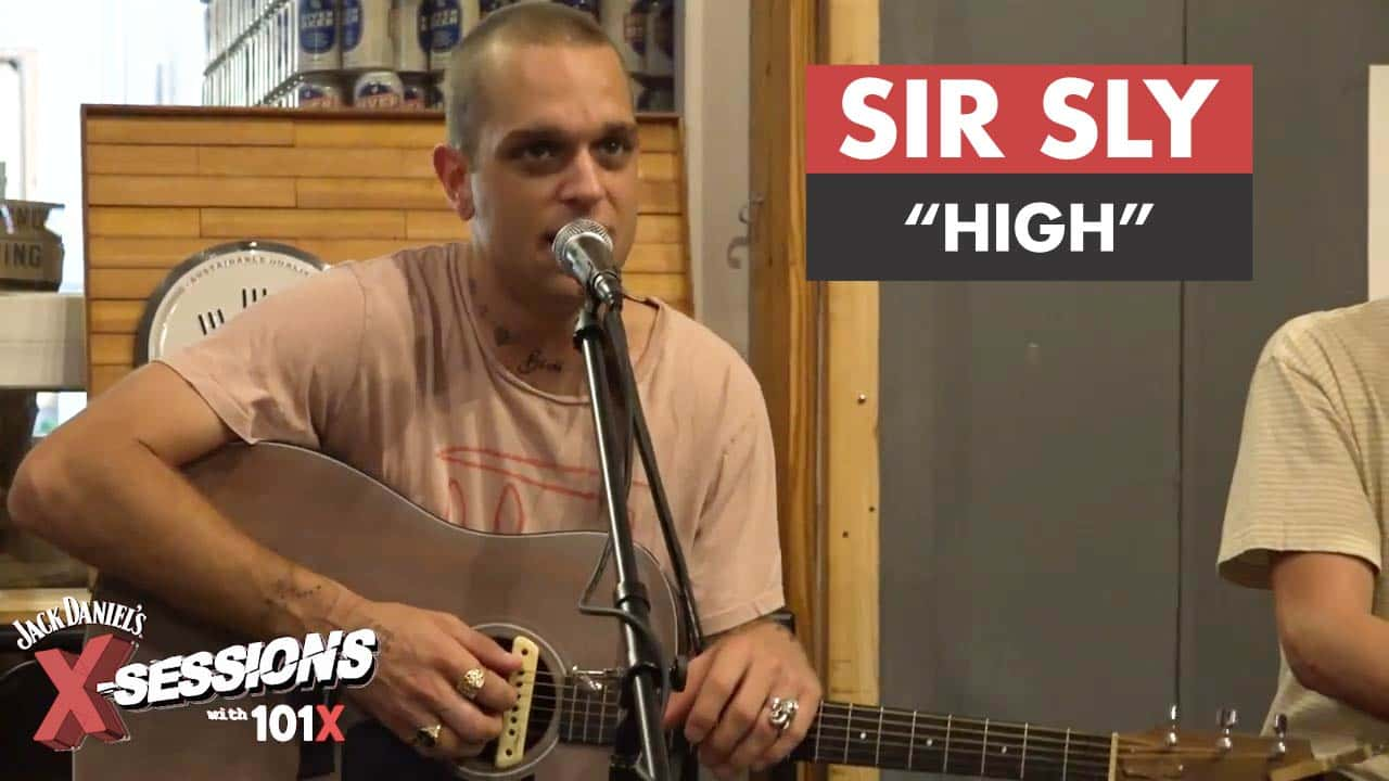 "Sir Sly performing ""High"""