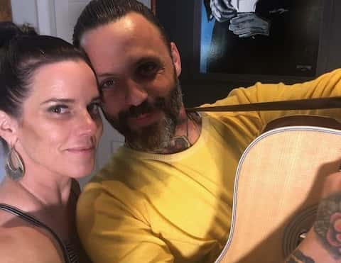 Justin From Blue October Is In…