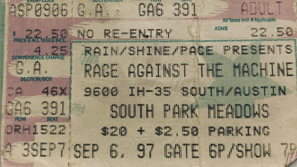 Rad Shows From Days Gone By