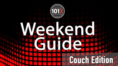 101x weekend guide graphic