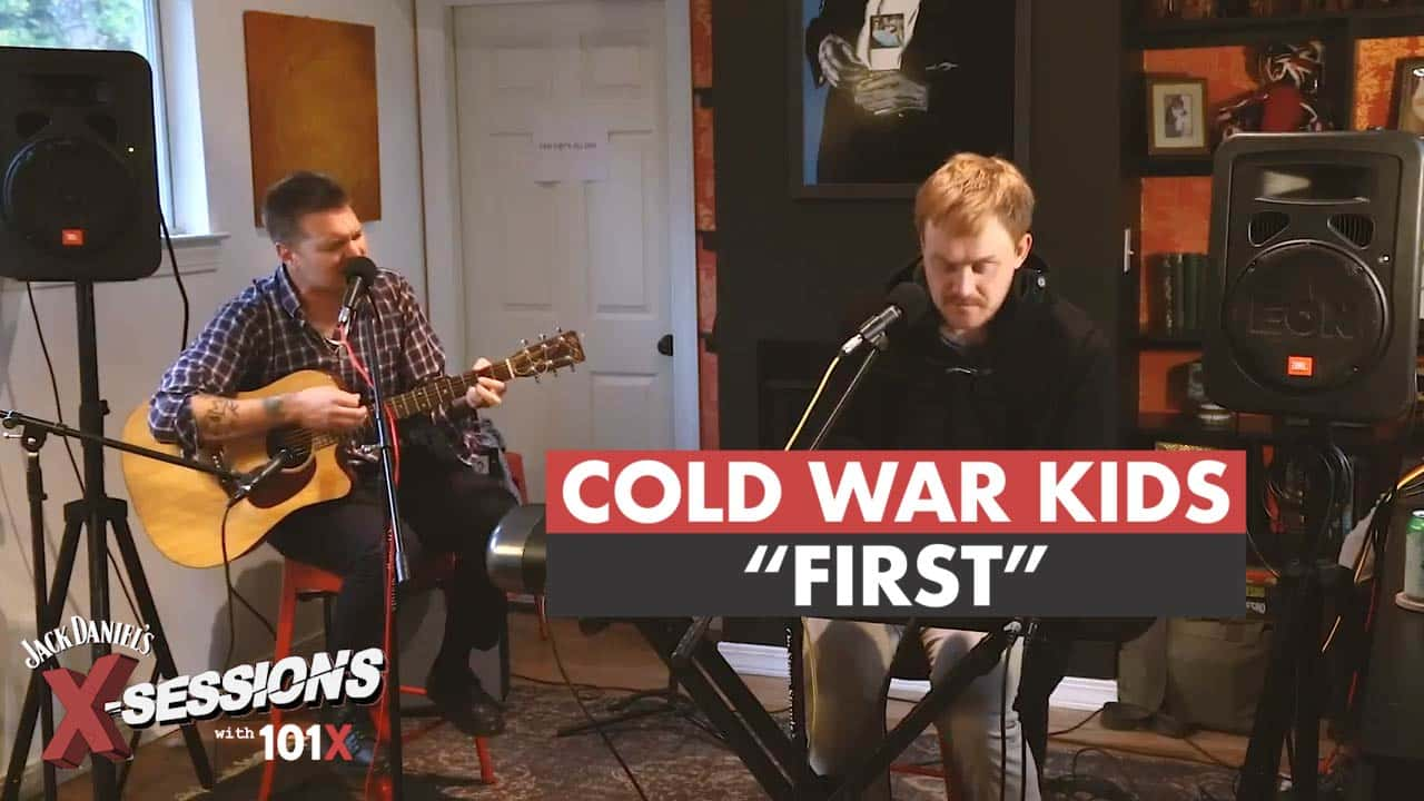 Cold War Kids perform
