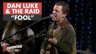 Dan Luke and the Raid perform