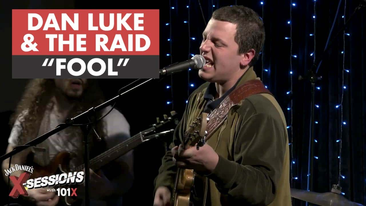 Dan Luke and the Raid perform