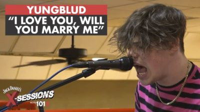 Yungblud performs