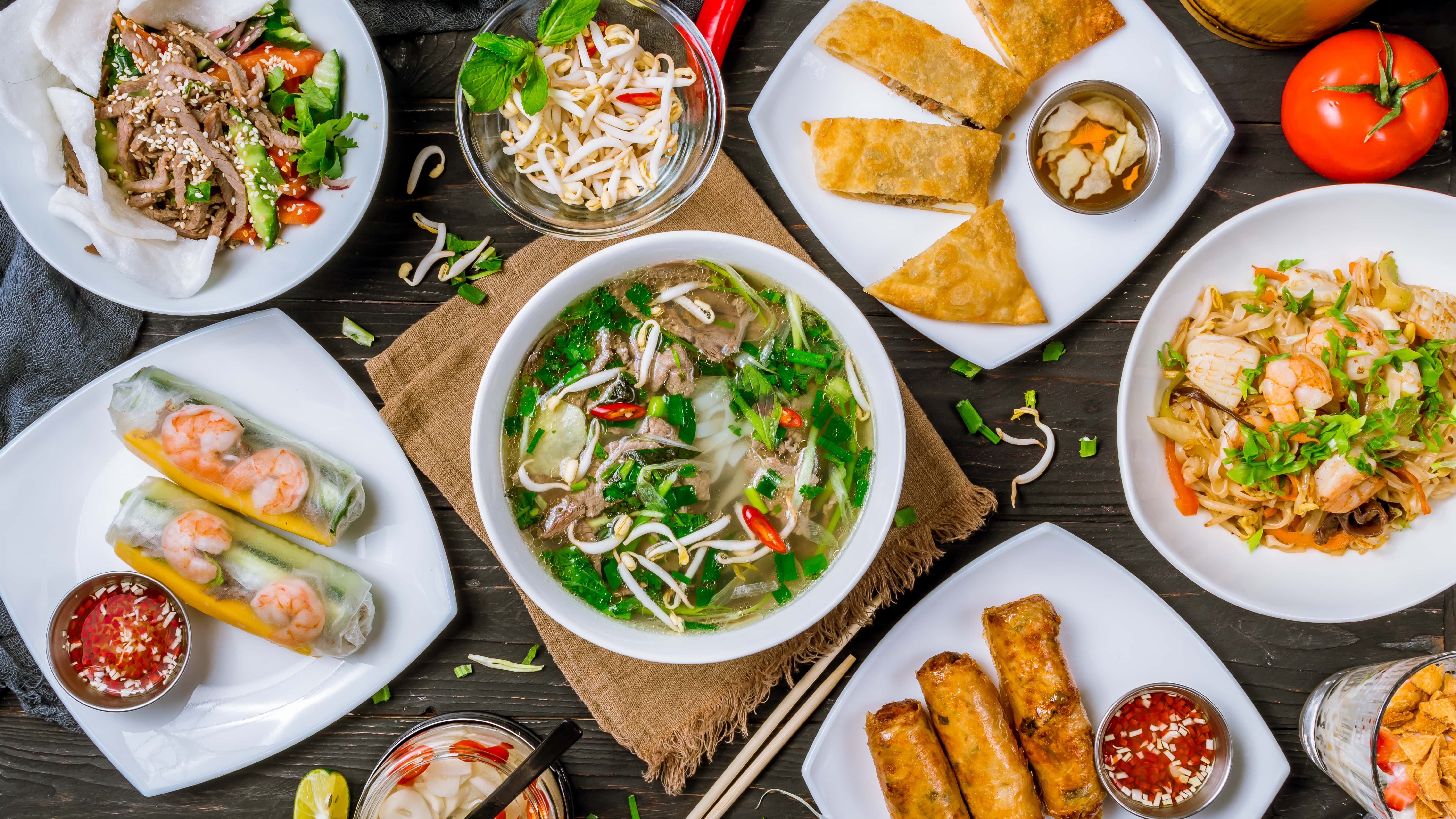 Asian and Vietnamese food